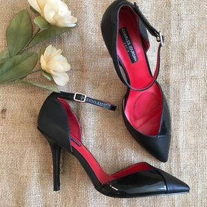 Charles Jourdan Paris Ankle Strap Stilettos